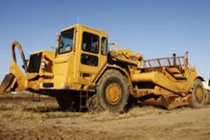 Articulating Wheel Dump Truck
