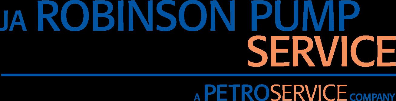 J.A. Robinson Pump Service