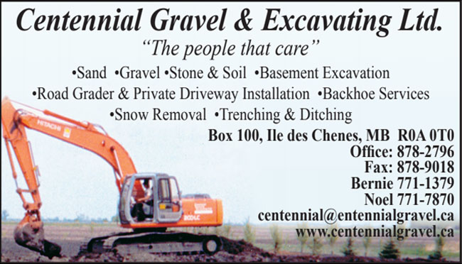 Centennial Gravel & Excavating Ltd