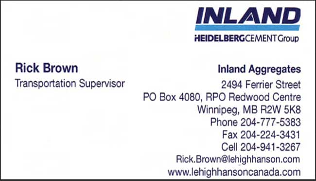 Inland HeidelbergCement Group
