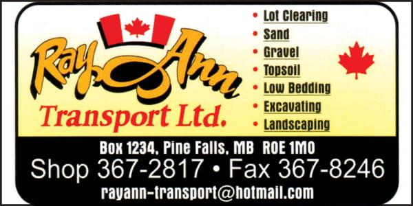 Ray Ann Transport Ltd
