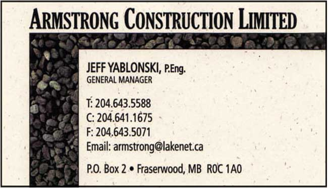 Armstrong Construction Ltd