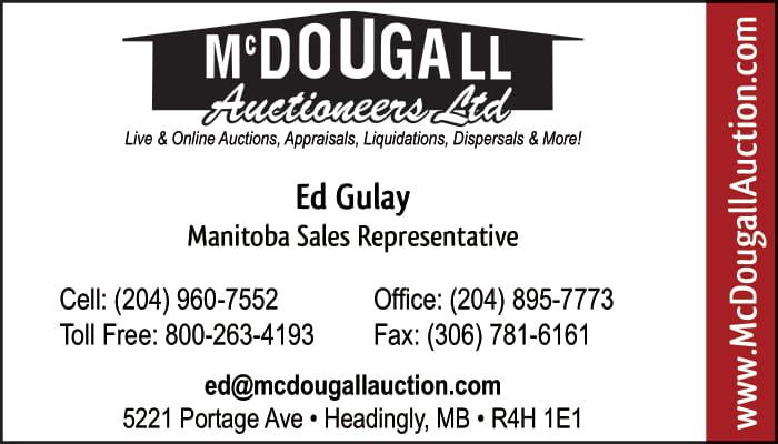 McDougall Auctioneers Ltd