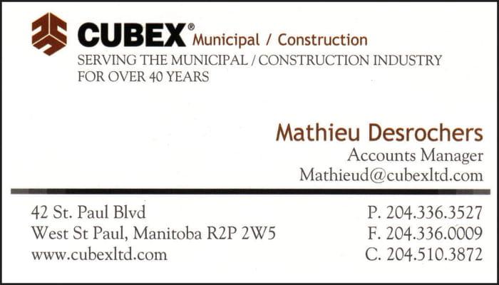 CUBEX Municipal / Construction Industry