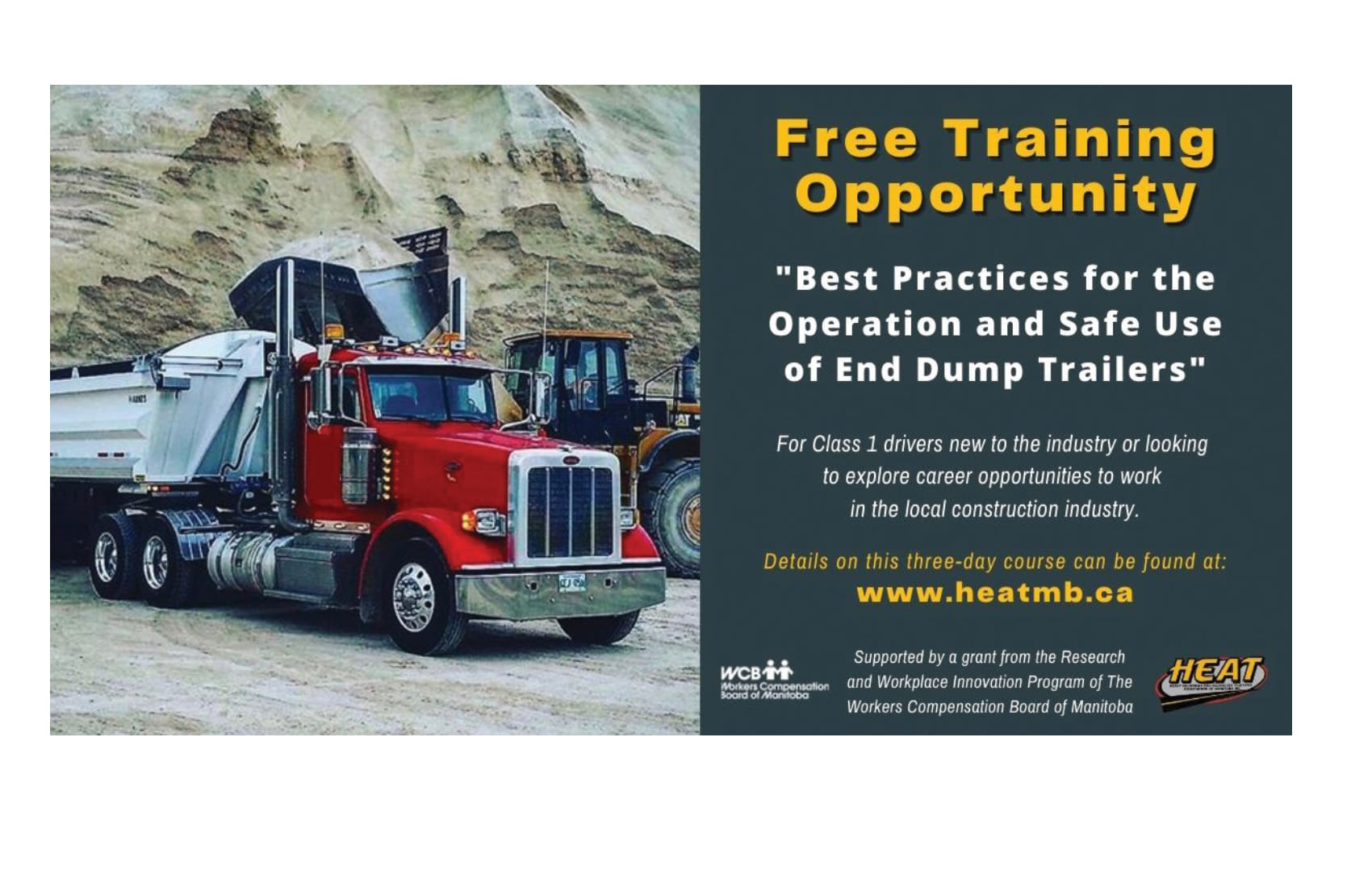 Heatmb Free Training Opportunity